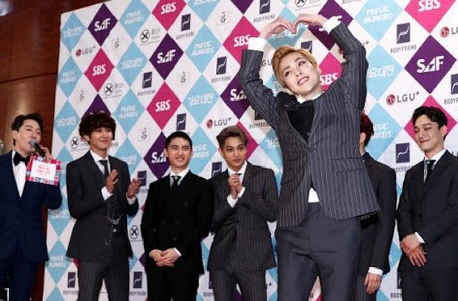 EXO, 1st in CD Album sales volume released in 2016  Genuine