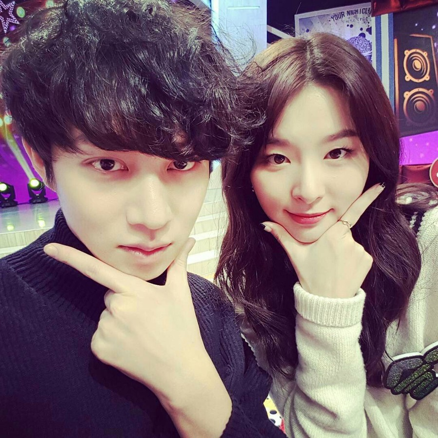 Heechul (SUPER JUNIOR), Red Velvet released two-shot with