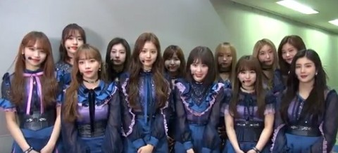 IZONE, Koreans debating on Japanese debut song  ○ Appearing in