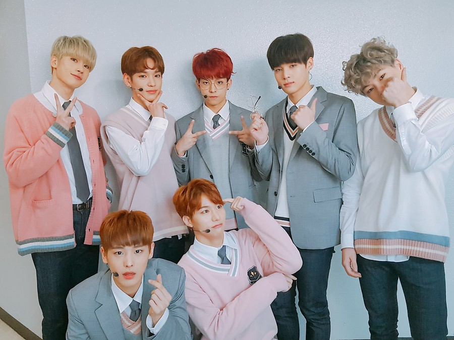 VICTON, the latest version of the audition program PRODUCE