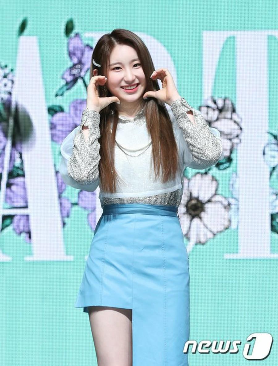IZONE Lee Chae Yeon attends the 2nd mini-album
