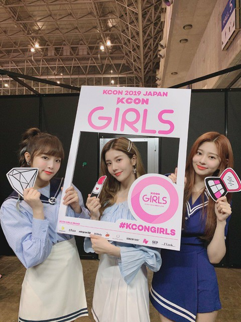 T Official] at the IZONE and KCON JAPAN venues  | WoW!Korea
