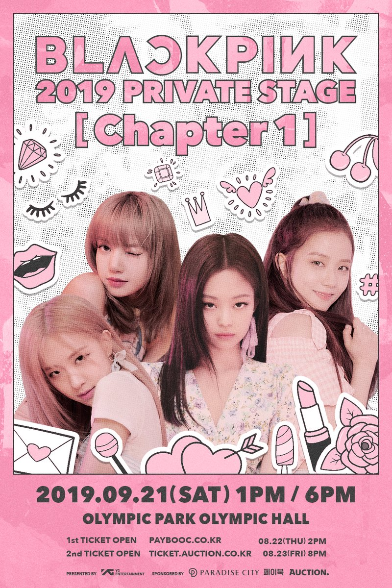 D Official yg] Time to make our first chapter ♥ #BLACKPINK