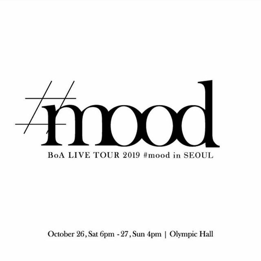 "G Official] BoA Holds Solo Concert ""BoA LIVE TOUR 2019-#mood"