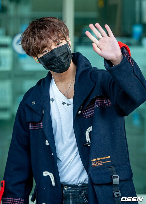 Park Ji Hoon, departure for overseas itinerary. . .