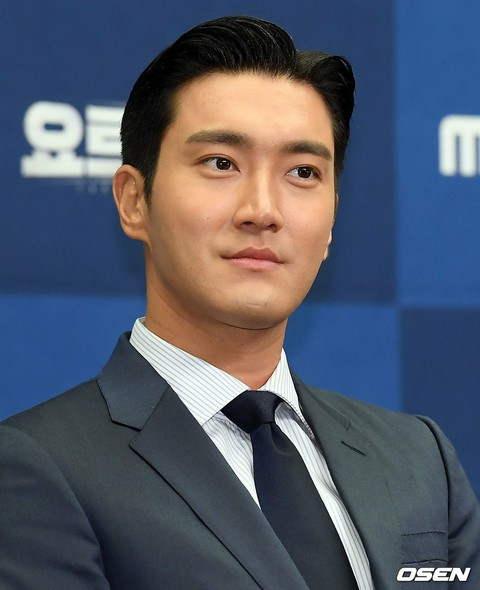 """SUPER JUNIOR"" Siwon attends the production presentation of the new variety ""Yac"