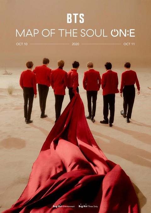 [D Official big] BTS MAP OF THE SOUL ON: E-Concert is going to be held.  #BTS #M