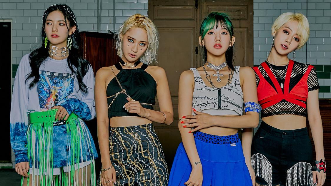 """V Official] GIRLKIND_ (GIRLKIND_ _ ) """"Psycho 4U"""" Image Teaser ..   WoW!Korea"""