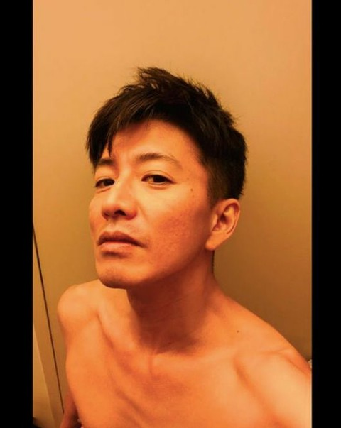 "Kimutaku's shirtless photo posted on SNS is Hot Topic in Korea. 48 years old, ""m"