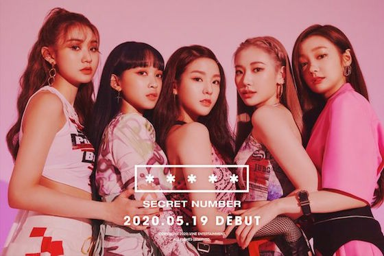 "Newcomer group ""SECRET NUMBER"", debut song release 6 hours MV exceeded 1 million times playback ... Explosion of reaction from overseas"
